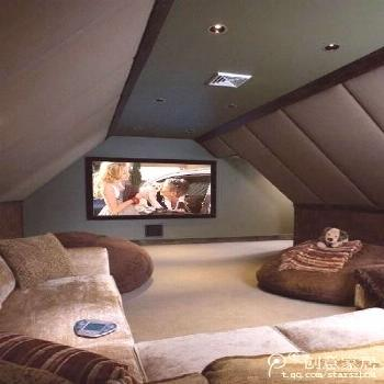 10 Fancy Things You Can Make Out of Your Attic Space -  At the other end if the secret attic stairs