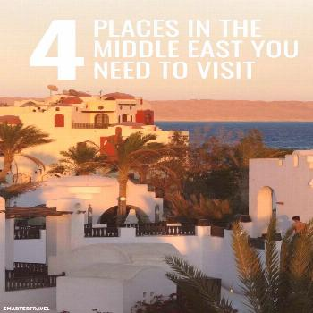 4 Places in the Middle East You Didn't Know You Need to Visit Travel to the Middle East is on the