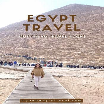 7 Must-Read Travel Books To Visit Egypt | My Own Way To Travel Best Egypt travel guide books | plac
