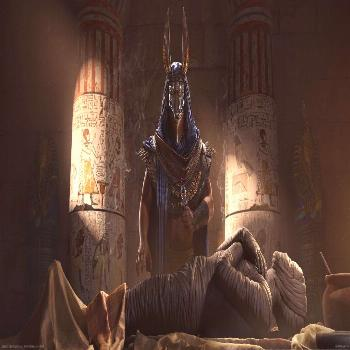 Anubis and mummy illustrations video games Assassin's Creed: Origins Assassin's Creed