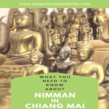 Chiang Mai's Nimman: The Unapologetic Bubble - The Professional Hobo Nimman in Chiang Mai Thailand