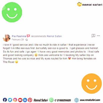 Customers' Testimonials One of our Customer's Feedback ??