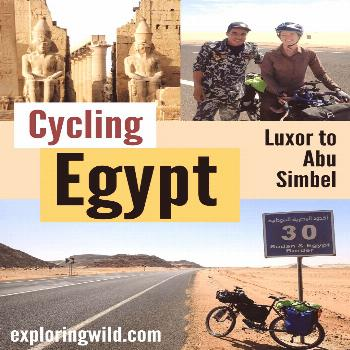Cycling Egypt: Luxor to Abu Simbel Travel in Egypt is fascinating, and bicycle touring in Egypt is