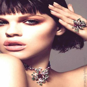 Dior Beauty by Jenny Brough for Hia Magazine | cynthia reccord   - Jewelry Editorial Photography -