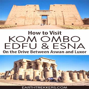 Driving Between Aswan and Luxor: How to Visit Kom Ombo, Edfu & Esna How to visit Kom Ombo, Edfu and