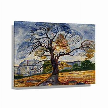 Edvard Munch The Oak Posters for Wall Art Canvas for Office