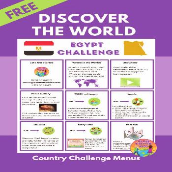 Explore Egypt Activities for Kids Young explorers discover the world through our website country pr