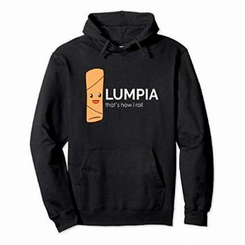 Filipino Hoodies For Men Lumpia Egg Roll Pullover Hoodie