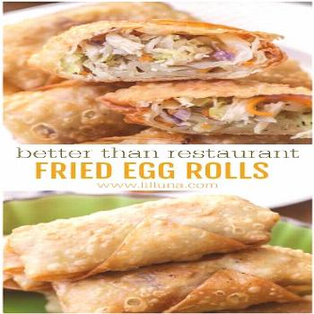 Fried Egg Roll Recipe | Everyone loves these homemade frìed egg rolls. They're the perfect appetì