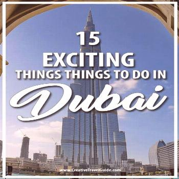 Heading to Dubai? We share 15 exciting things to do in Dubai as well as where to stay in Dubai the