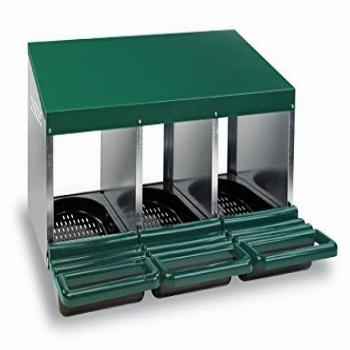 Homestead Essentials 3 Compartment Roll Out Nesting Box for
