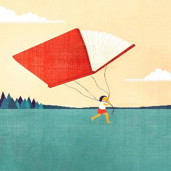 Investing in children's education and their training path. Illustration for Capital magazine.  In