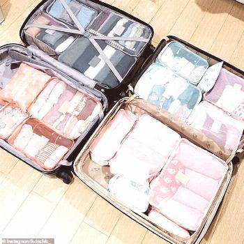 Life-changing tips for packing Marie Kondo suitcases that you can try ... -  Life-changing tips to