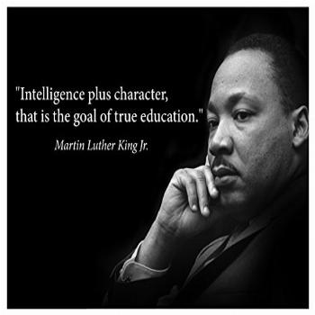 Martin Luther King Jr. Poster famous inspirational quote