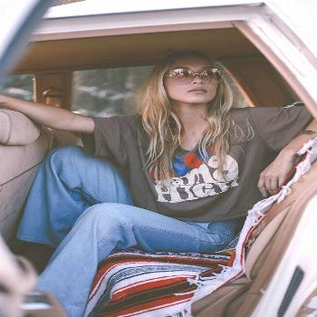 Online Editorial:Come On and Take a Free Ride  Graphic tees & tunics: Sugarhigh Lovestoned Photogra