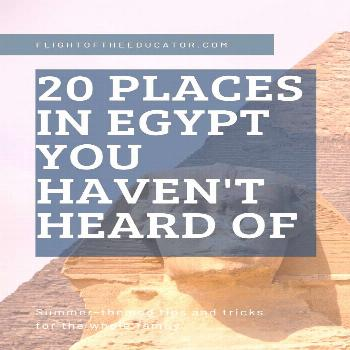 Pin on Flight of The Educator blog pins Ultimate list of places in Egypt you must see during your e