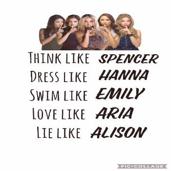 Pretty Little Liars Poster: 40 Printable Posters (Free Download) –  Pretty Little Liars is an Ame