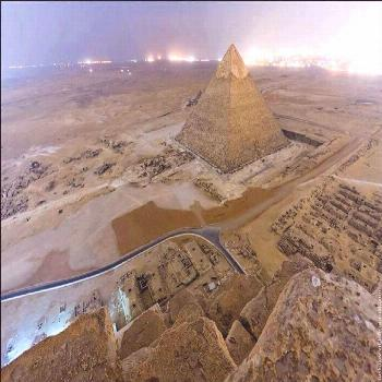 Pyramid of Khafre (Chefren)  Photo of the day: The Pyramid of Khafre, the second largest pyramid of