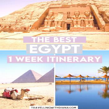 The Best Egypt 1 Week Itinerary You Need to Steal The Best Egypt 1 Week Itinerary You Need to Steal