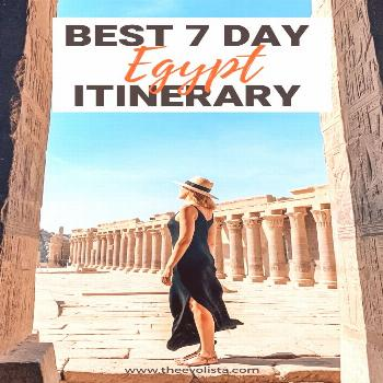 The Ultimate 7 Day Egypt Itinerary: Cairo, Luxor & Aswan Visit the Pyramids of Giza, Take a Nile Cr
