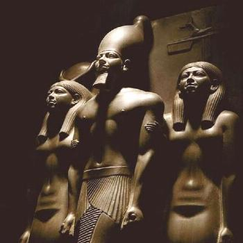 Trinity of Menkawre at the Egyptian Museum in Cairo Trinity of Menkawre:  Are some of the great pie