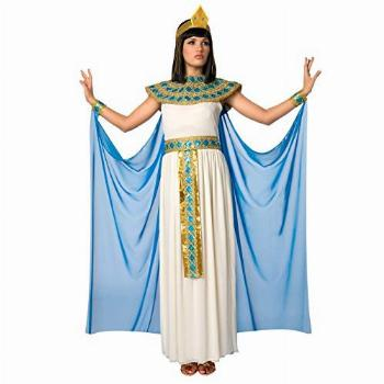 Womens Blue Cleopatra Costume Ancient Egypt Egyptian