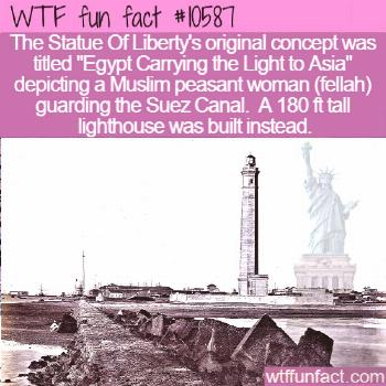 WTF Facts : funny, interesting & weird facts  WTF Fun Fact - Egypt Carrying the Light to Asia  1058