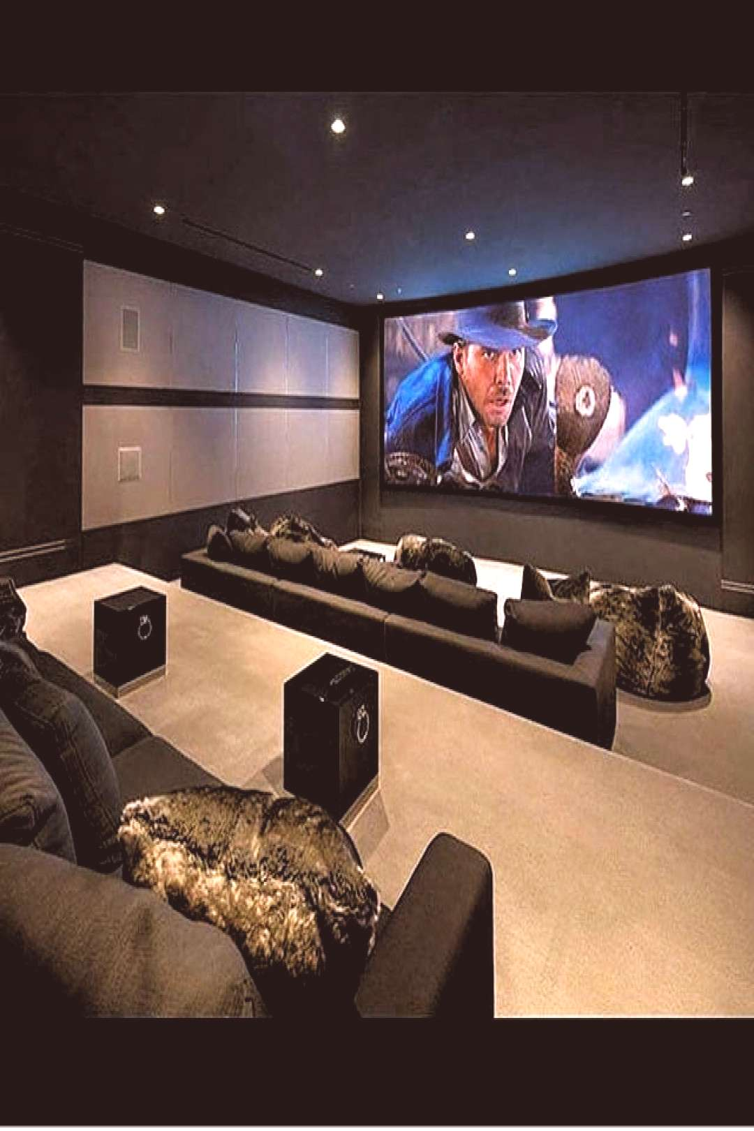 40+ Awesome Basement Home Theater Design Ideas - Luxury Interiors - 40+ Awesome Basement Home Thea