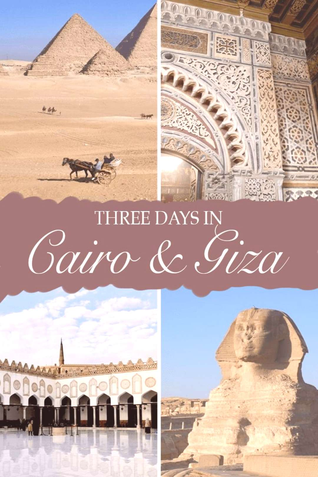 Cairo and the Pyramids: A Three Day Itinerary - Erika's Travels Explore the best of Cairo and its s