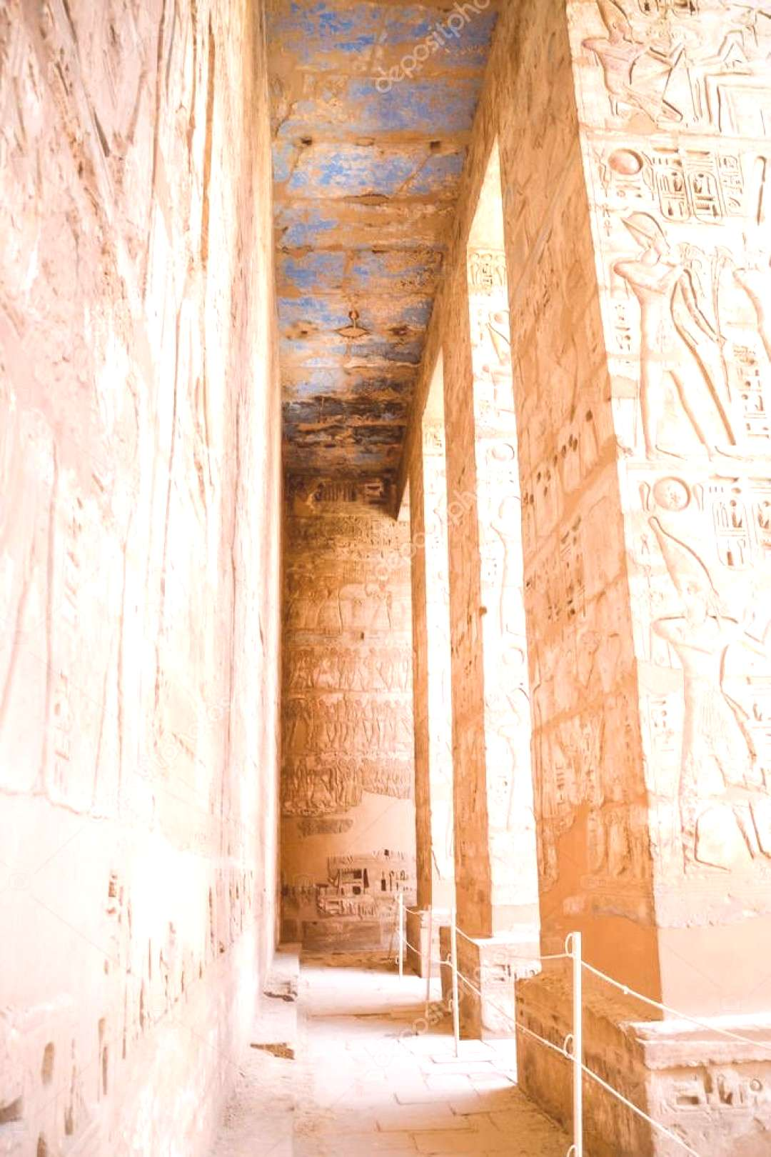 Dendera Egypt Luxor Famous Old Building - Stock Photo ,