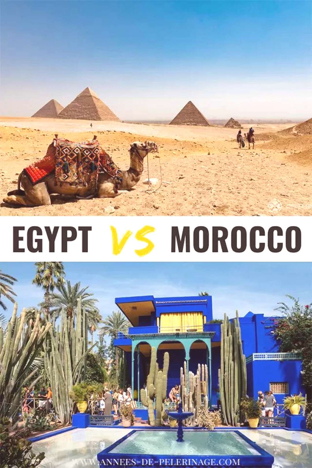 Egypt vs Morocco - which country should you visit? Egypt vs Morocco - which country should you visi