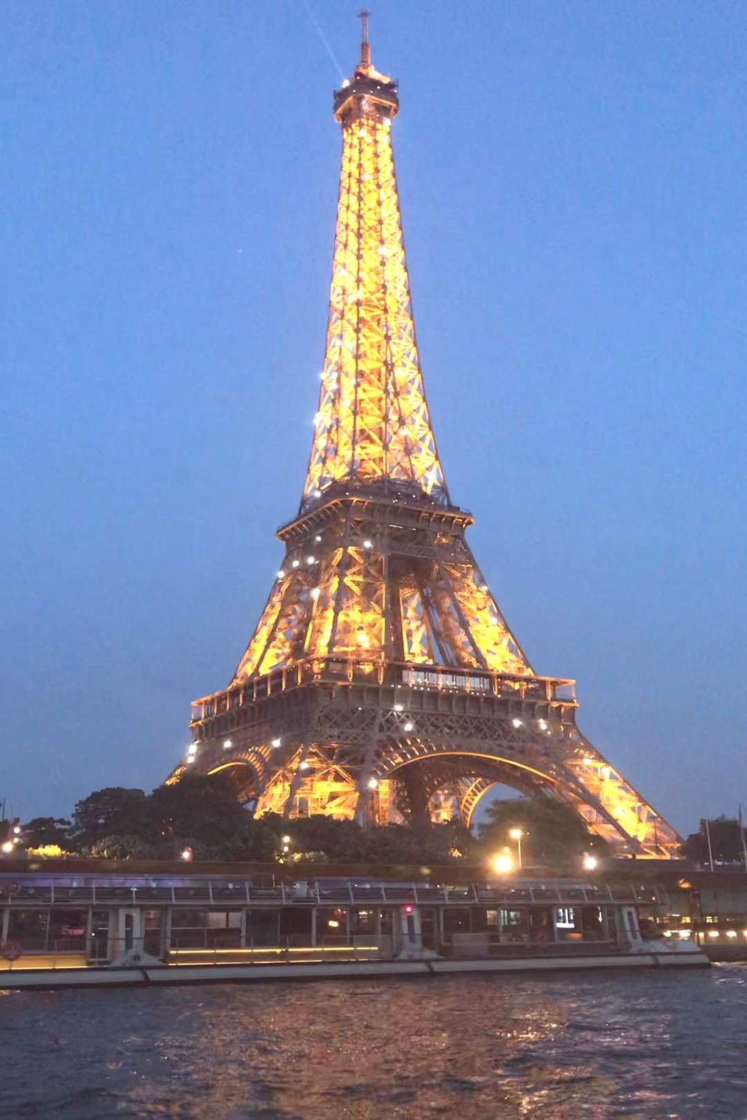 Eiffel Tower lit up!!!! Check out my account and follow me!