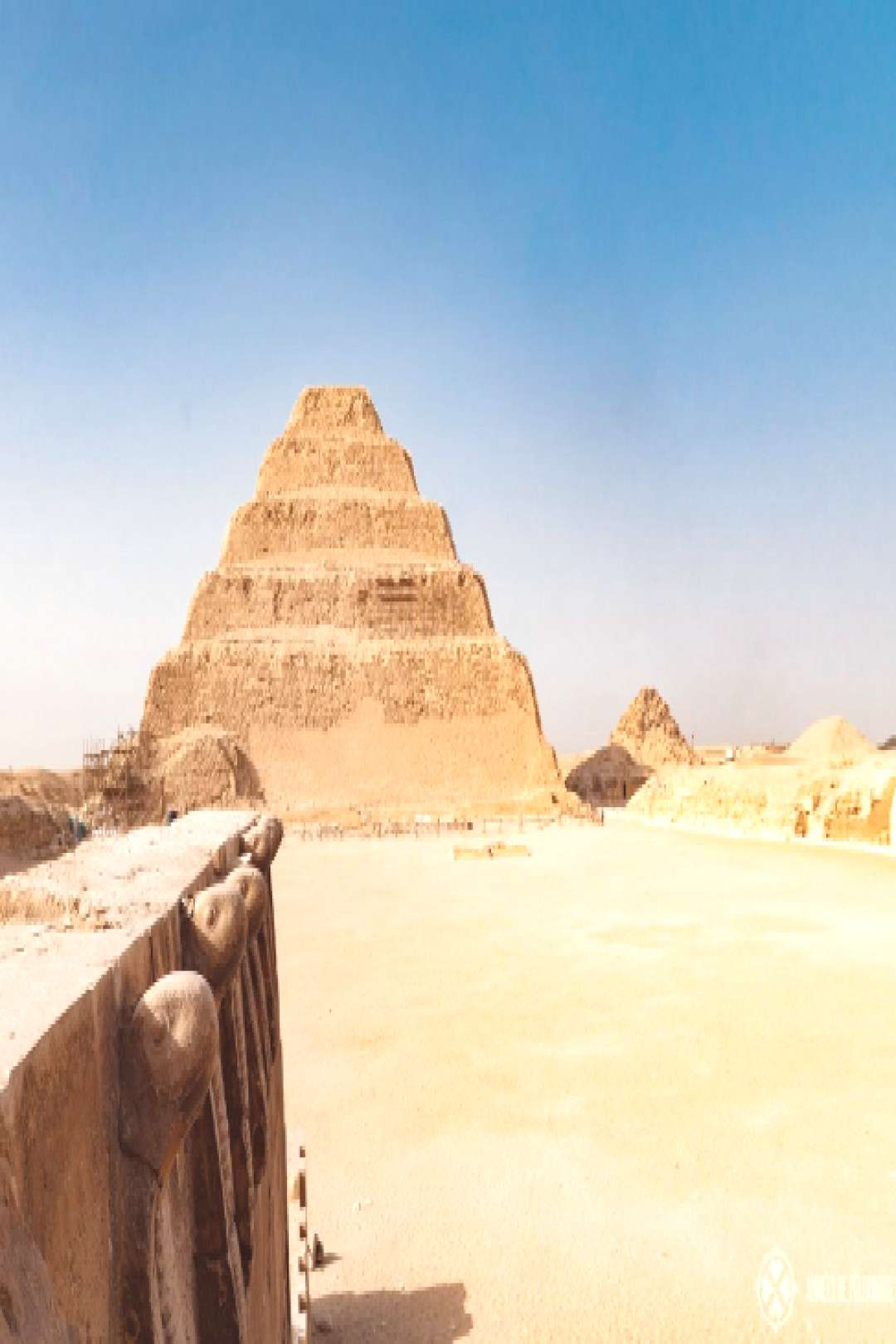 Everything you need to know to plan your visit to the Step Pyramid of Djoser in Saqqara Egypt. Find