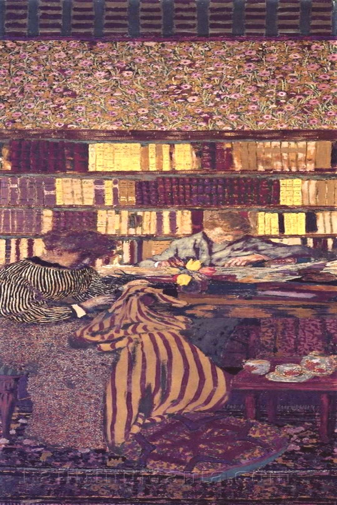Figures in an Interior: Work by Edouard Vuillard