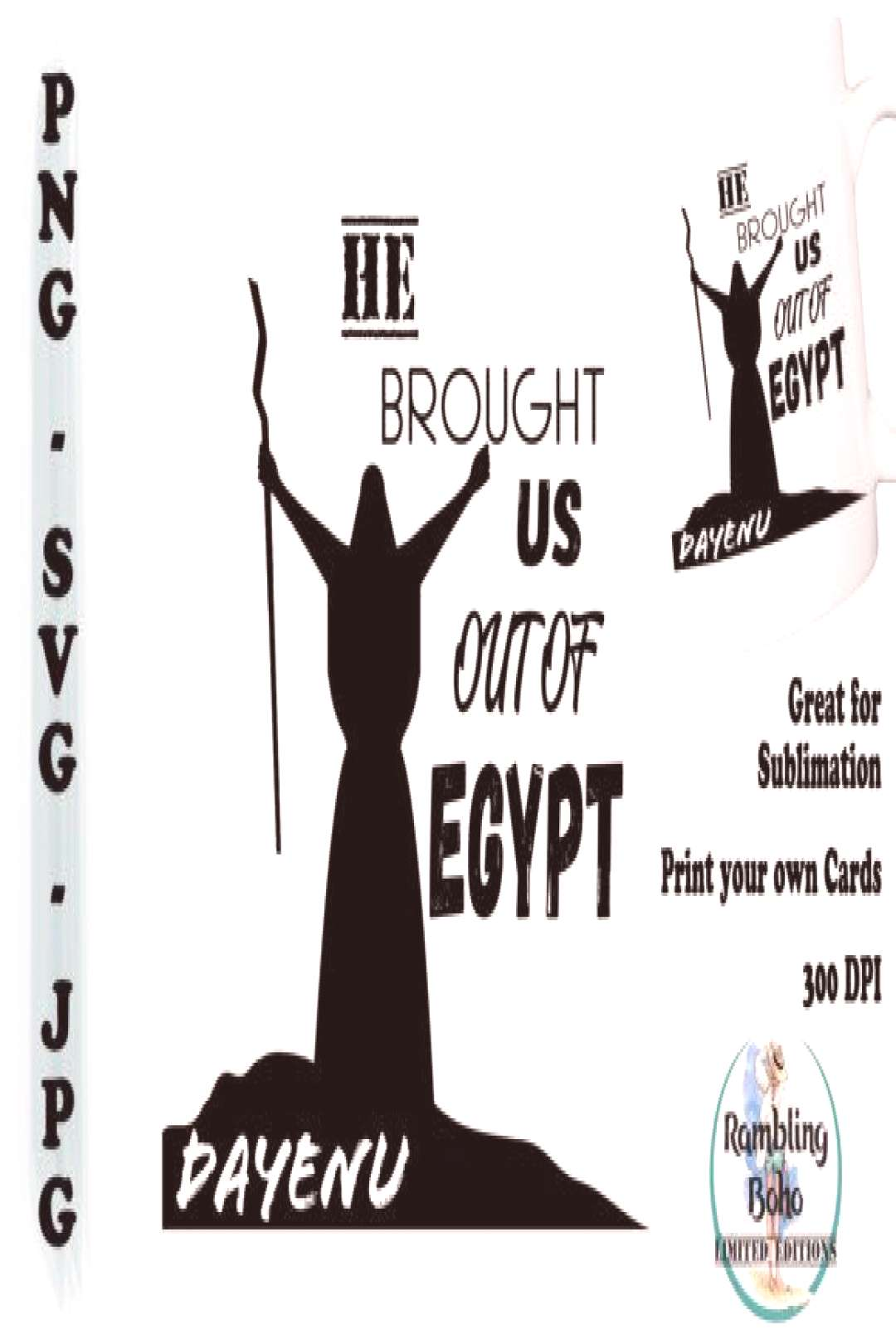 He Brought Us out of Egypt ,