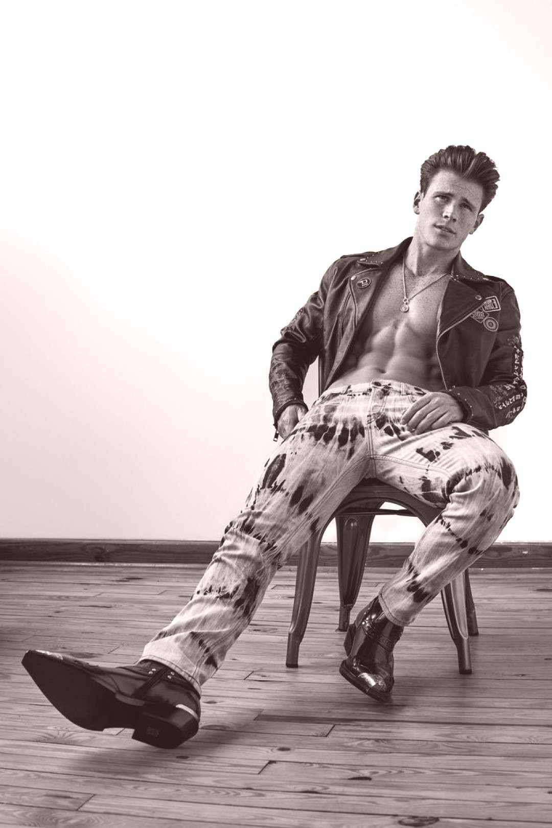Huh Samuel, Ethan, Hector + More for Hunger Magazine Stand Out, by Blake Ballard, featuring Calvin