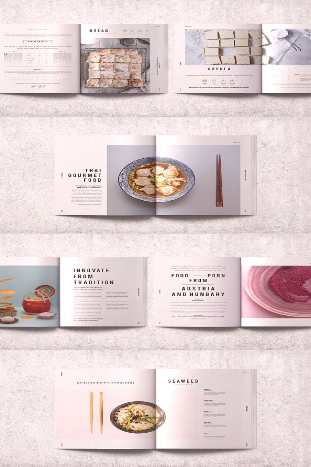 InDesign Cookbook / Recipe Book Template