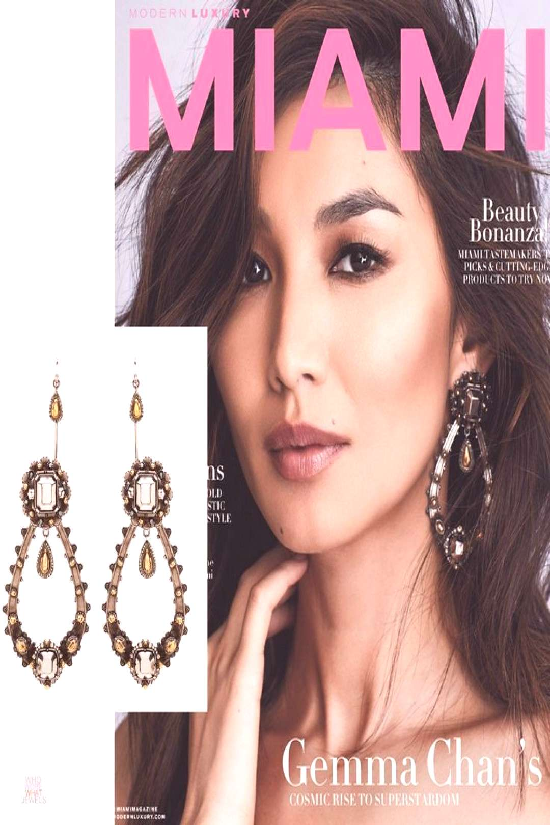 JEWELRY EDITORIAL Best Jewels From The February amp March Cover Issues - Celebrit... - JEWELRY EDIT