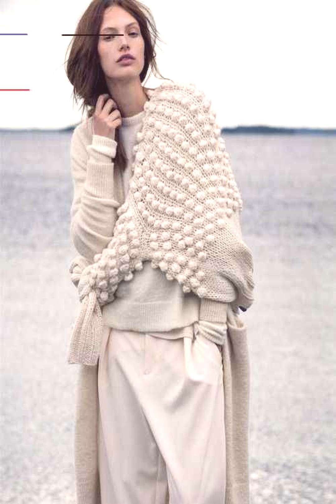 Layering knitwear all in cream the dream! Layering knitwear all in cream the dream!