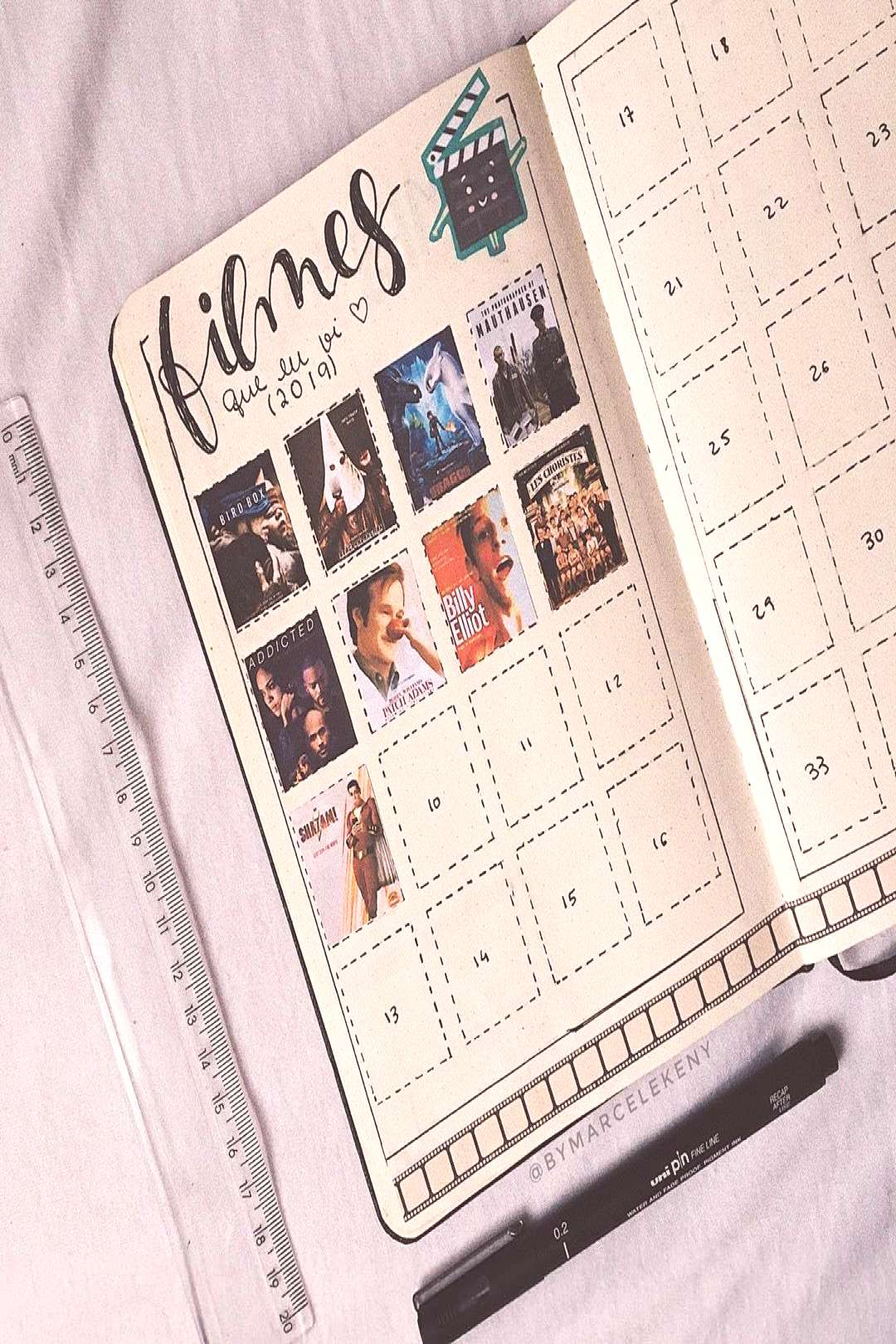 """Marcele Keny ♡ Bullet Journal on Instagram """"Who remembers this page !? * - ... - Marcele Keny"""