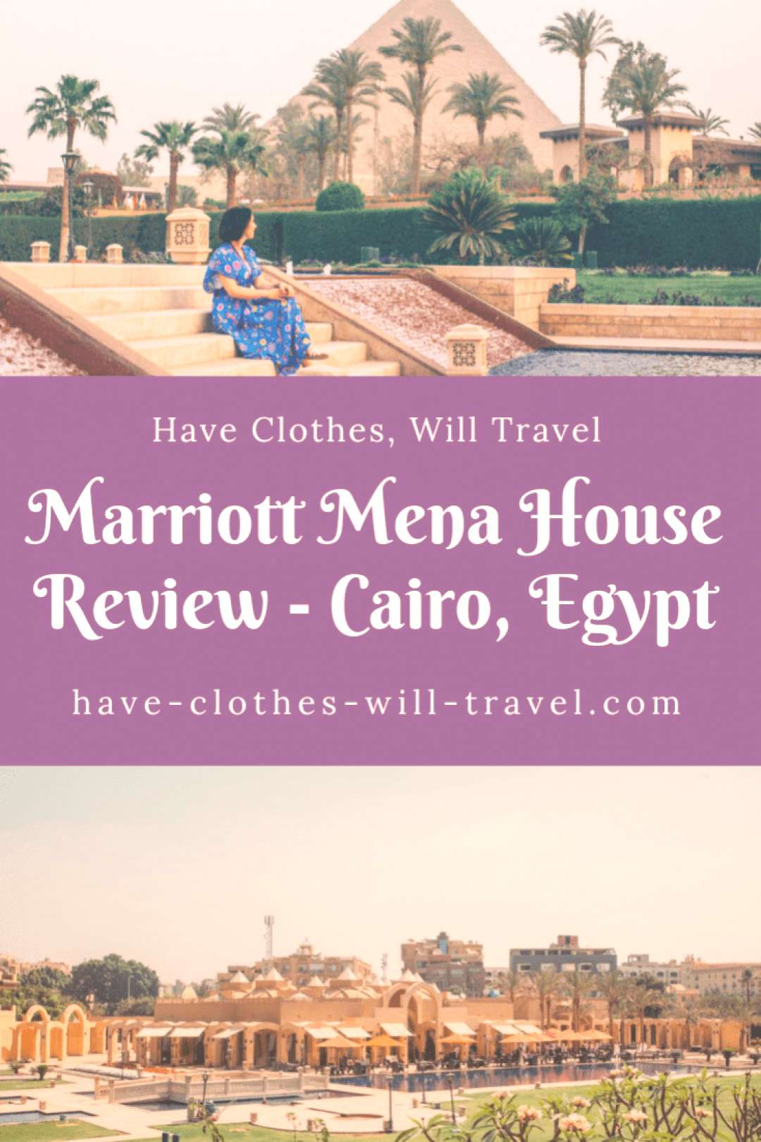 Marriott Mena House Honest Review - Cairo, Egypt Dreaming of waking up next to the Pyramids? Did yo