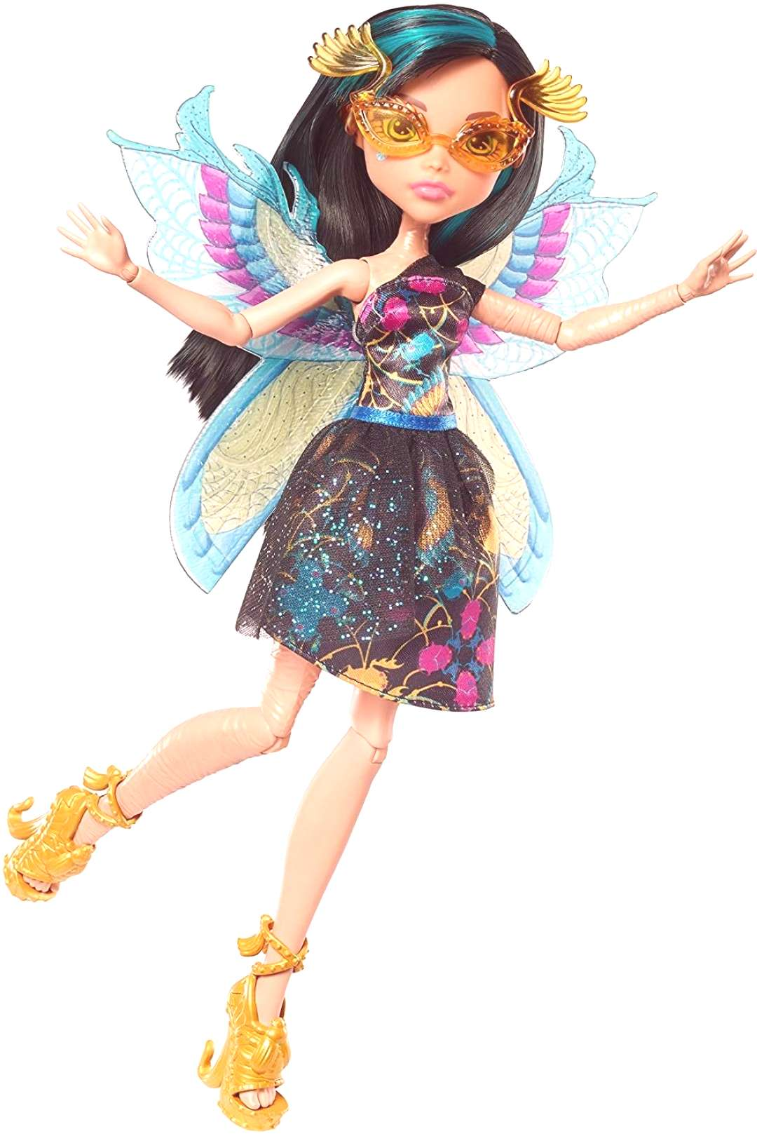 Monster High Garden Ghouls Wings Cleo De Nile Doll Let your imagination take flight with the Monste