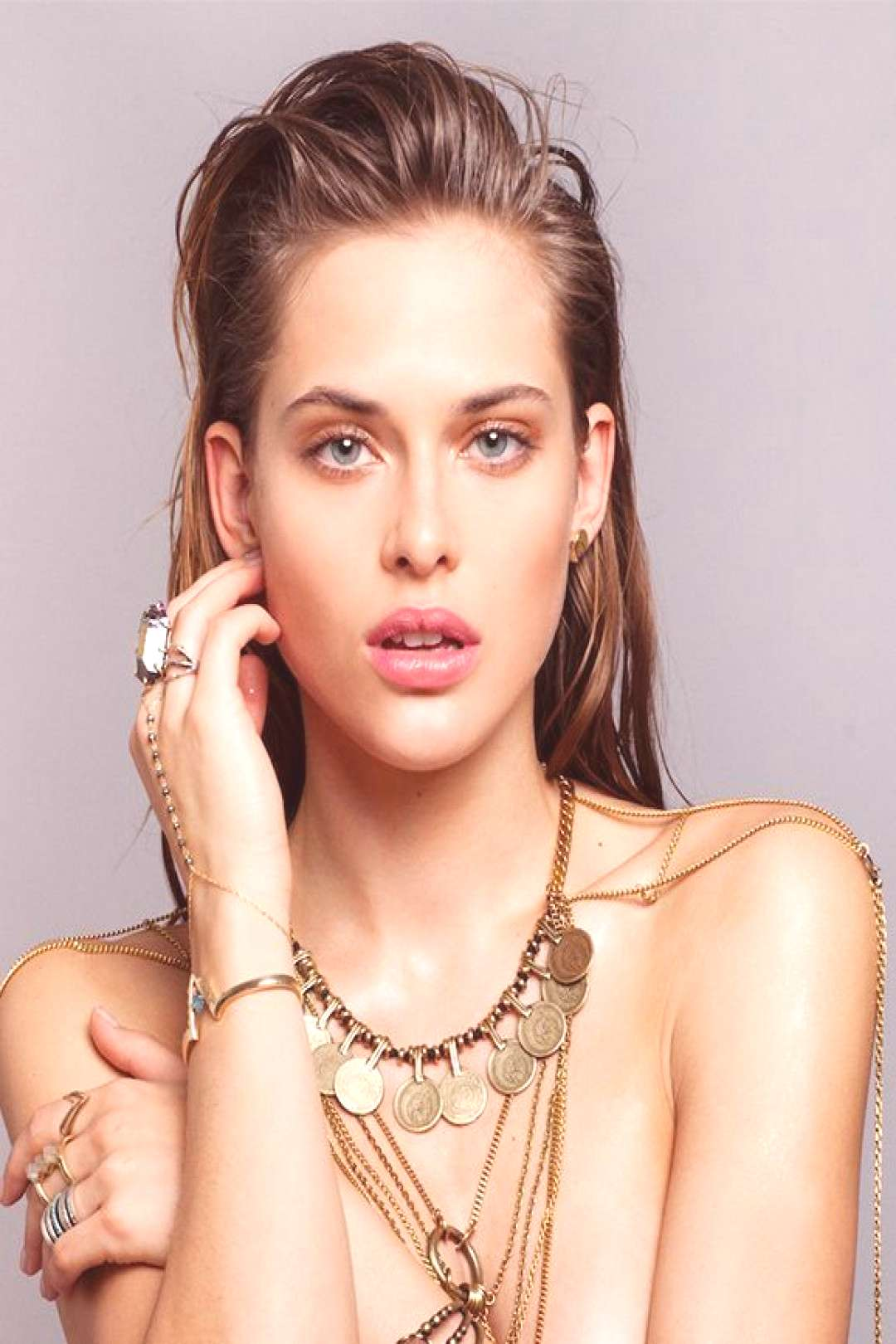More is more: an original jewelry editorial - women's accessories - bags - letter ... -  More is mo