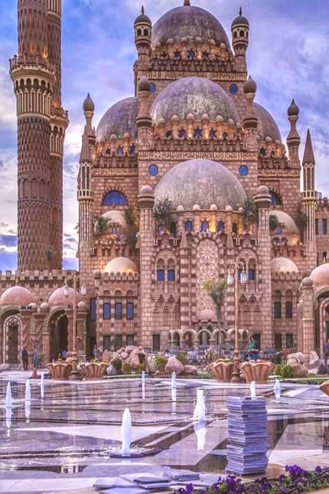 Mosque of the companions in Sharm el - Sheikh .. Egypt beautiful. #this_is_egy... - Mosque of th