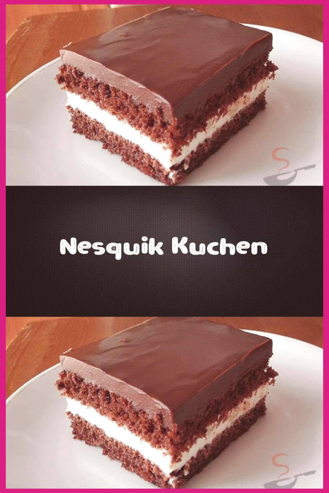 Nesquik cake - ingredients for the dough: 6 eggs 150 g sugar 150 g Nesquik 150 g ... -  Nesquik cak