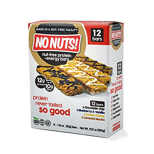 No Nuts! Protein Bars Energy Bars - 100% Nut Free Dairy Free