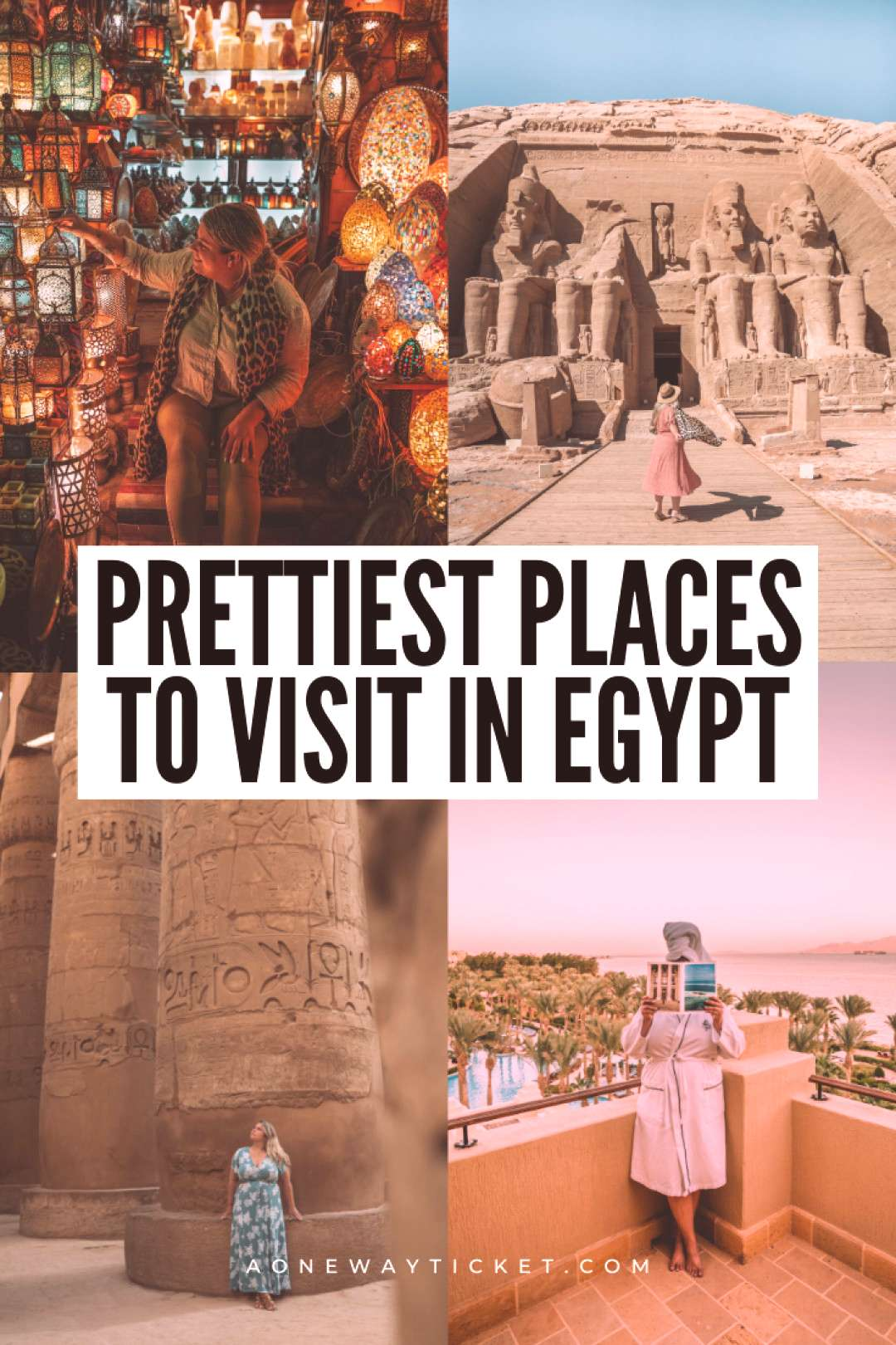 Prettiest Places to Visit in Egypt amp How to Avoid the Crowds | A One Way Ticket Egypt is a bucket l