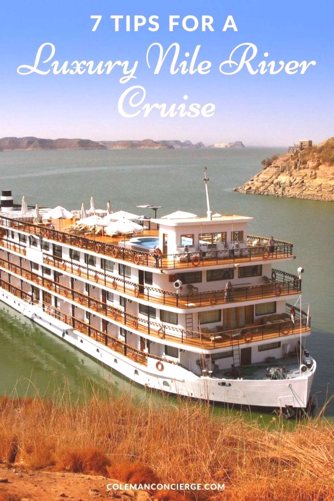 Seven Tips For a Luxury Nile Cruise That Will Convince You to Go Cruising on the Nile River is a bu