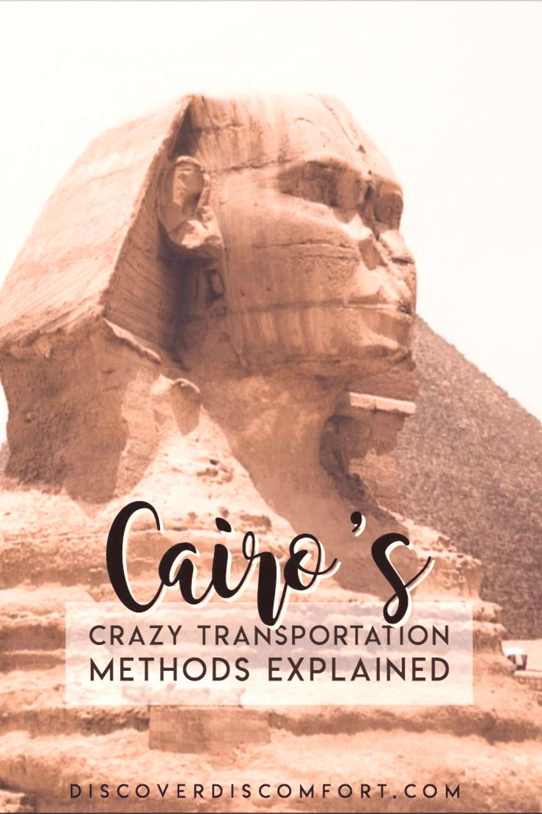 The Crazy Transportation of Cairo | Discover Discomfort Transport in Cairo is crazy. We realised th