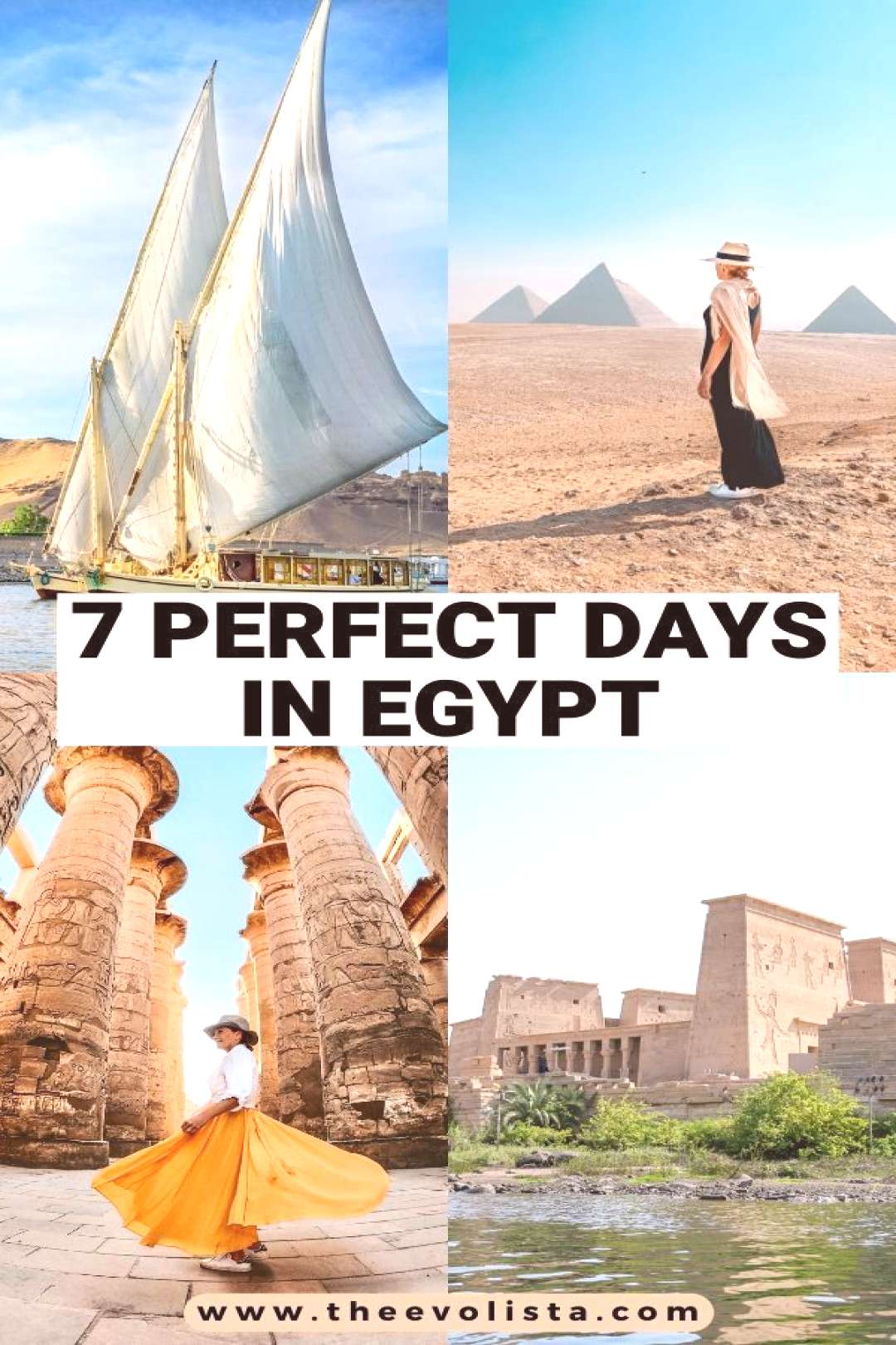 The Ultimate 7 Day Egypt Itinerary Cairo, Luxor Aswan The Perfect 7 Day Egypt Itinerary Youll Wa